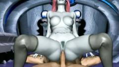 Wild 3d sex on board the spaceship - Spanish dubbing