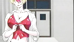 Hot hentai cutie with big breasts in XXX cartoon