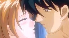 Love story in erotic hentai porn cartoon