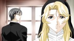 Handsome blonde nun gets hardcore fucked till cum on her face