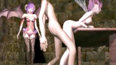 3D hentai batgirls doggystyle fucking hard
