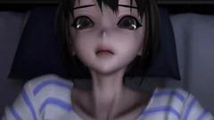 3D Young Futanari Fucks Schoolgirl!
