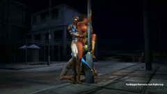 Supergirl licking Spiderwoman pussy while her pussy fucked by Spiderman
