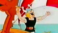Crazy Cartoon Vikings his big cocks fuck women prisoners in mouth