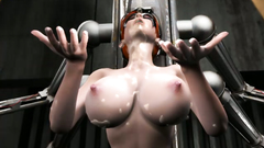 BDSM porn with a slutty redhead mistress who loves giving blowjobs