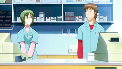 Young hentai co workers are horny for each other and fuck at the work place
