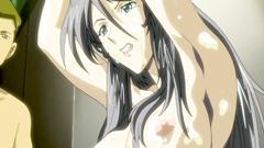 Bondaged hentai babe gets some strange love - sex toons