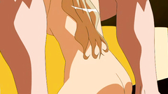 Sexy girls are getting fucked in hentai sex toon
