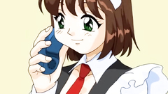 Petite barely legal maid in awesome hentai toon