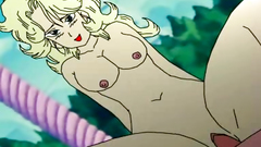 Passionate cartoon fuck with busty drawn chicks