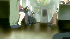 Abusing and molesting for young babes in the public train