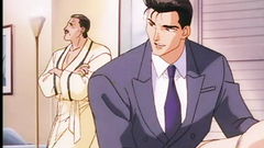 Brutal and handsome studs in erotic anime toon
