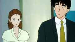 This is old school anime cartoon with handsome babes