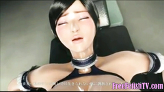 3D Little Loli with Huge Tits Penetrated and Creampied