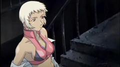 Japanese anime threesome hard fucked by bandits