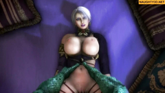 Hentai Hard Monsters Compilation Naughty3D