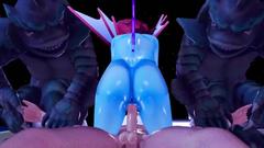 3d monster girl wants sex