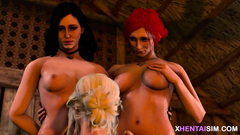 Warcraft and The Witcher futanari porn compilation 44