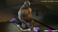 3D sex titjob collection part 3
