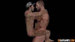 Hot heroes from Overwatch gay porn collection